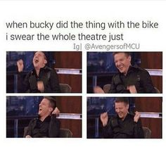 Yes the whole movie everyone was laughing at the stupidest things