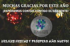 ¡Desde la iniciativo os deseamos felices fiestas y próspero Año Nuevo!