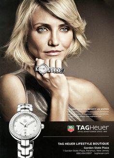 TAG Heuer Cameron Diaz - I'm loving this watch!