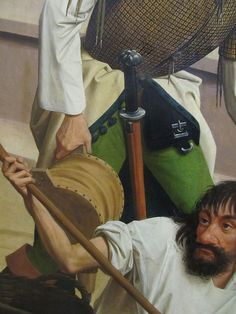 GEERTGEN TOT SINT JANS, Leggenda dei resti mortali di S. Giovanni Battista (dett.); dopo il 1484 c.; KHM Gemäldegalerie Kunsthistorisches Museum - Vienna (inv. G G 993)