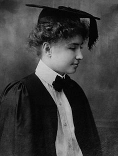 Helen Keller overcame so much. I wish I could have peeked inside her head when she first broke out of her dark, quiet world.