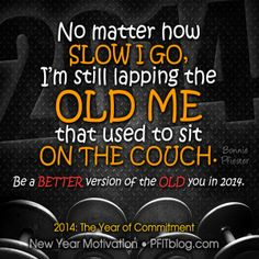 Be a better version of the old you!