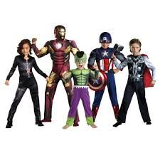 Marvel Avengers family costume ideas for Halloween. The Avengers are always changing too so you can be any of the characters that have joined the team through time.