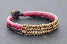 Femme Pink Beaded Bracelet