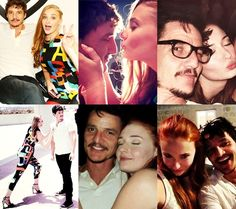 Pedro Pascal and Sophie Turner