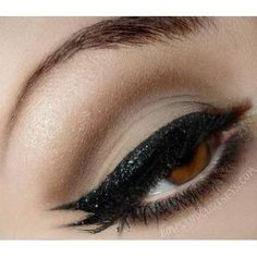 Black Glitter Liner