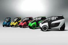 トヨタ、3月24日から6月初旬まで首都圏において「i-ROAD」のモニター調査 / 計20名程度を対象に車両10台を用いて実施 - Car Watch