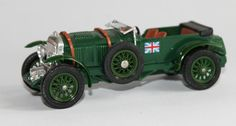 Vintage Bentley Die Cast Model Car Boxed Matchbox Models of Yesteryear Y2 1930 4.5 Litre Super Charged Collectable Home Decor