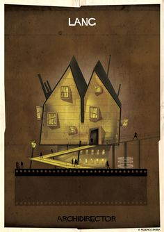 Gallery of ARCHIDIRECTOR: A Fantastical City Inspired by Famous Directors by Federico Babina - 6