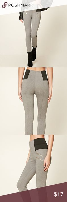 NWT Body Sculpting Leggings NWT! 88% polyester, 8.5% rayon, 3.5% spandex.    Nothing wrong with the pants, they are just sitting in my closet!  Size Medium- Waist: 28-29    Hips: 38-40 Forever 21 Pants Leggings