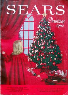 Sears Catalog...my dad kept these. Us girls would go through it page by page, circling everything we wanted for Christmas.