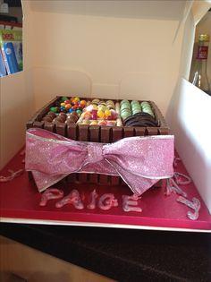 Girls sweetbox cake
