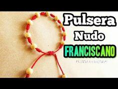 Haz una pulsera de Nudos Franciscanos {FÁCIL} // Pulsera de hilo - YouTube