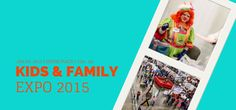 GAGA PIT, Zip Line, LEGO Build and MORE at 2015 KIDS AND FAMILY EXPO!