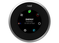 For all of the things Nest's smart thermostat has learned to do, its interface hasn't made a lot of progress; you frequently have to dig to see more than