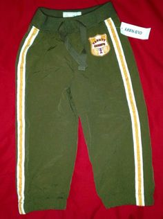 NWT OLD NAVY ATHLETIC PANTS FOR BOYS...SIZE 18-24 MONTHS BROWN #OldNavy #Pants #Dressy