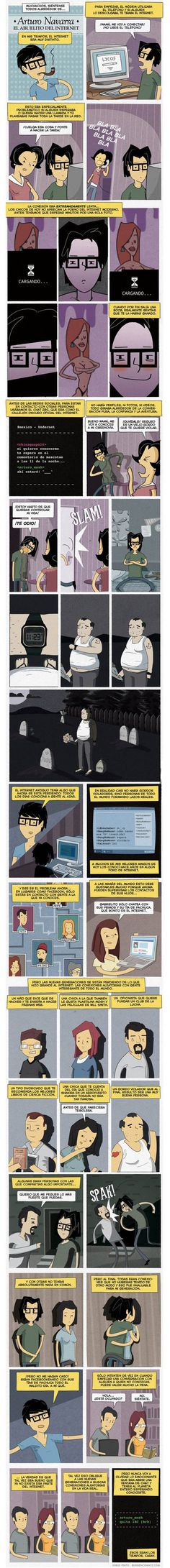 En mis tiempos el internet era muy distinto @ www.elmemeno.com