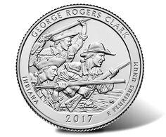 2017 George Rogers Clark National Historical Park Quarter