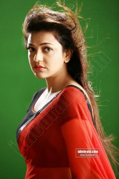 Kajal Aggarwal in Red transparent Saree South Indian Actress Photo, Indian Actress Hot Pics, Actress Pics, Indian Actresses, Beautiful Girl Indian, Most Beautiful Indian Actress, Beautiful Actresses, Cute Beauty, Beauty Full Girl