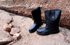 Amblers Safety FS224 Safety S3 Rigger Boots Black  #Rigger #boots