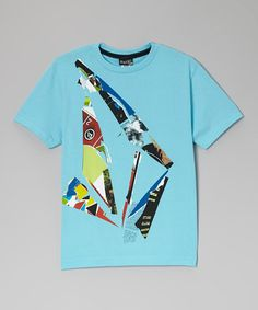 Take a look at this Scrap Stone Tee - Boys by Volcom on #zulily today!