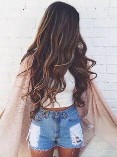 || Creative Images Institute of Cosmetology || summer hair. hair color for summer. hairstyle for summer. Love, love the hair!!
