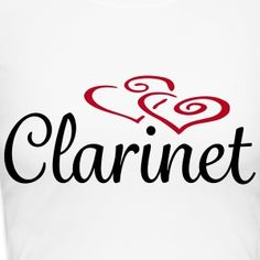 Clarinet Hearts Clarinet, Cool Designs, Geek Stuff, Hearts, Company Logo, Band, Logos, Fashion, Geek Things