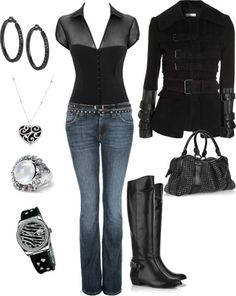 """Fall Outfit"" by manda3482 on Polyvore"