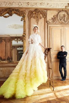 Falling In Love With Couture, the full Parisian fashion shoot from our September issue: