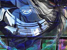 Glass Abstract 265 Photograph by Sarah Loft
