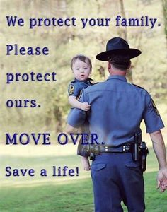 move over when passing a police car Cop Wife, Police Officer Wife, Police Wife Life, Police Family, Police Love, Support Police, Move Over, Police Quotes, Police Lives Matter
