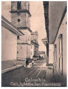 Torre Mudejar en la Iglesia de San Francisco (1910) San Francisco, History, Painting, Buga, Antique Photos, Past Tense, Destiny, Towers, Historia