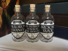 Harry Potter  Witches Home Potion Bottle Set