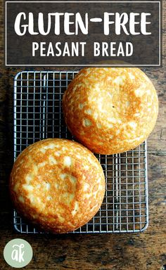 The Best, Easiest Gluten-Free Bread — loved by all! Gluten-free bread baking can be a challenge but this recipe is easy. I find gluten-free flour works the best. - The BEST, Easiest Gluten Free Bread Best Gluten Free Bread, Gluten Free Diet, Foods With Gluten, Gluten Free Cooking, Gluten Free Bread Bowl Recipe, Vegan Gluten Free Bread, Gluten Free Artisan Bread, Gluten Free Hamburger Buns, Wheat Free Bread