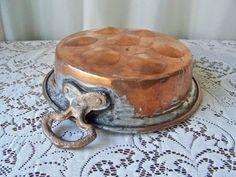 Antique Copper Escargot Poacher Copper Home Decor by cynthiasattic