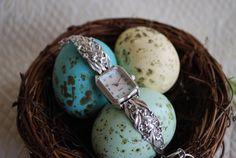 Spoon Watch Buttercup by Silver Spoon Jewelry by silverspoonj, $124.00