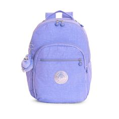 Kipling Seoul Large Laptop Backpack ($129) ❤ liked on Polyvore featuring persian jewel
