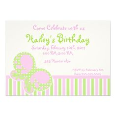 Shop Butterfly Dots Birthday Invitation 3 created by Birthday_Party_Shop. Butterfly Birthday, White Envelopes, Birthday Invitations, Rsvp, Dots, Place Card Holders, Paper, Cards, How To Make