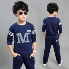 >> Click to Buy << Children's clothing male child spring set 2017 child long-sleeve sweatshirt twinset casual child clothes #Affiliate