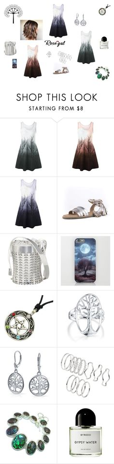 """""""Tree of Life"""" by browncoat4ever ❤ liked on Polyvore featuring Seychelles, Paco Rabanne, Bling Jewelry and Byredo"""