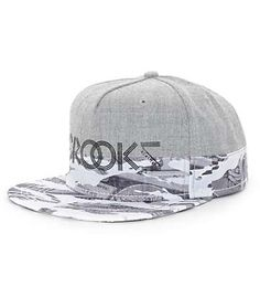 be0cf9df208 Crooks and Castles Currency Snapback Hat Crooks And Castles