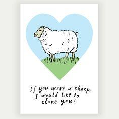 #dolly #sheep #greetingscards #emilyhayes