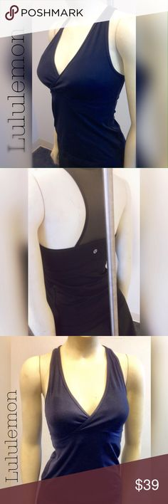 Hot! 🔥🔥🔥 Lululemon tank 🔥🔥🔥 Tank with built in shelf bra for moderate support. Mesh racer back style. Excellent condition and very gently used. lululemon athletica Tops Tank Tops