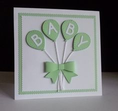 Splitcoaststampers New Baby Balloons