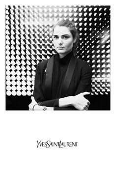 Yves Saint Laurent #polaroid #picture #vintage #connectedphotos #Black@White #luxury