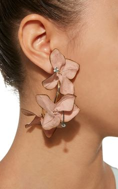 Flower Hoop Earrings by MARNI Now Available on Moda Operandi
