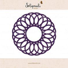 Mandala SVG Cut Files - diagram svg - geometric svg by SolipandiDesigns