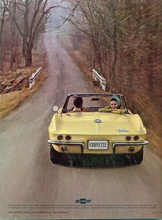 1965 Chevrolet Corvette Sting Ray Convertible-alot of good stuff was made in '65 !!!!!!!!!!