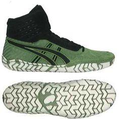 20a0949086d3 Aggressor 4 Cedar Green-Black Wrestling Shoes - Suplay Wrestlers World
