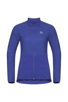The women's extra-warm Millennium S-Thermic Element running jacket from ODLO gives advanced protection and performance even in harsh wintry conditions. Built with ODLO's innovative S-Thermic technology, this high-performance jacket has been developed with fast-drying, breathable polyester and 40g G-Loft insulation to deliver extreme warmth in a comfortable, lightweight package that insulates the body when cold